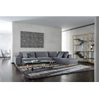 Sectional Upholstered Vittoria Quilted Sofa