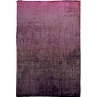 100% Viscose Light Reflecting Opulence Purple Rug