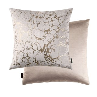 Ara Rose Gold Luxury Cushion | Touched Interiors