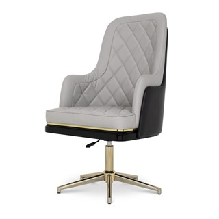 Atherton Upholstered Leather Luxury Office Chair