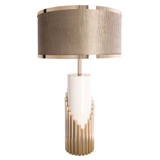 Aurum Symphony Table Lamp with Luxury Shade