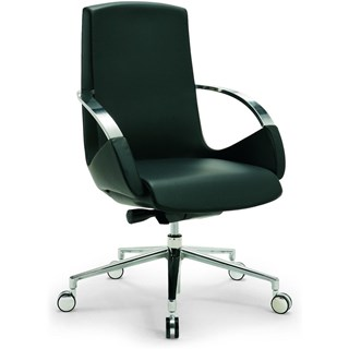 Bespoke Upholstered Office Adjustable Swivel Office Armchair