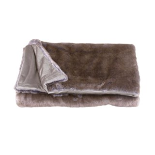Blue Fox Luxury Throw