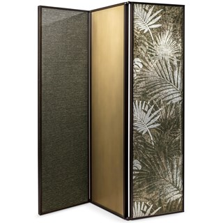 Carmina Bronze Folding Screen | Touched Interiors