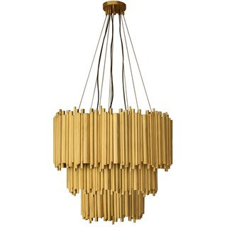 Chamber Gold Plated Brass Chandelier