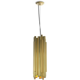 Chamber Gold Plated Brass Pendant Lamp