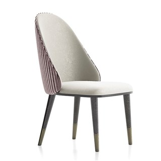 The Conchita Quilted Dining Chair | Touched Interiors
