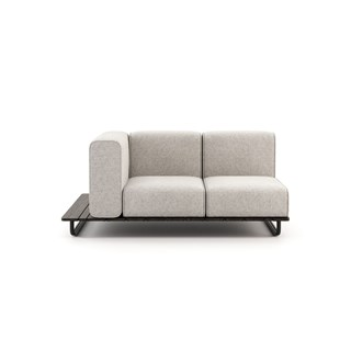 Copacabana Outdoor Sofa with Left Armrest | Touched Interiors