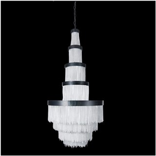 Crystal Large Selenite Stone Chandelier