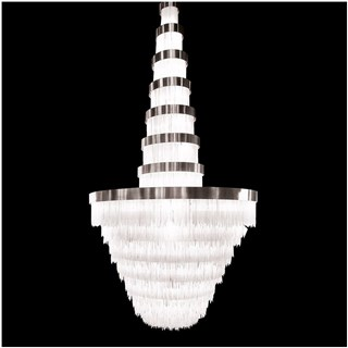 Crystal XL Selenite Stone Chandelier
