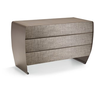 Curl Metallic Iron Luxury Chest of Draws | Touched Interiors