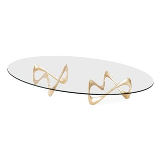 Double Parisian Graffiti Coffee Table | Touched Interiors
