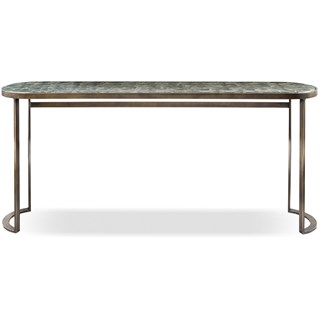 Ginevra Ovale Italian Console Table | Touched Interiors