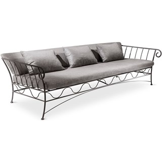 Anthracite Outdoor Luxury Sofa | Touched Interiors