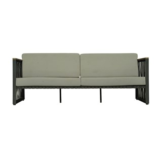Horizon Carbon Matt Outdoor Sofa | Touched Interiors