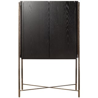 Italian Black Ash Luxury Cabinet | Touched Interiors
