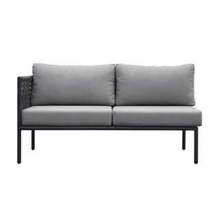 Kitt Outdoor Luxury Love Seat (Right) | Touched Interiors