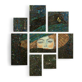 Le Regard Mosaic Wall Art | Touched Interiors