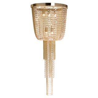 Luxo Wall Lamp With Swarovski Crystals | Touched Interiors