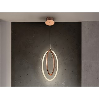 Brushed Gold Maja Pendant Light | Touched Interiors