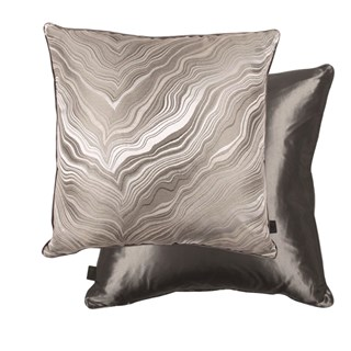 Marbleous Khaki Luxury Feather Padded Cushion