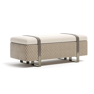 Luxury Upholstered Margon Bench | Touched Interiors