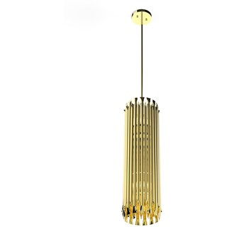 Marquis Gold Plated Brass Pendant Light