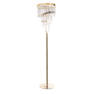 Luxury Medici Brass Floor Lamp | Touched Interiors