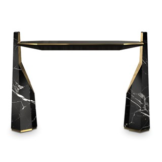 Nero Marquina Suspension Console | Touched Interiors