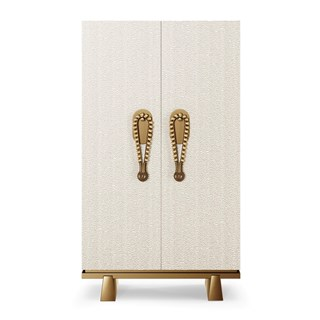 Osirus Luxury Cabinet With Brass Handles | Touched Interiors