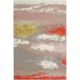 Papaya River Handtufted Wool & Viscose Rug