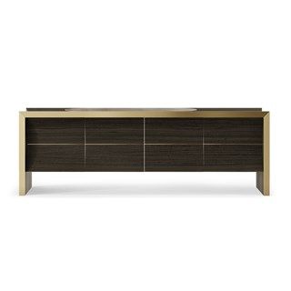 Penthouse Curved Swarvey Luxury Sideboard | Touched Interiors