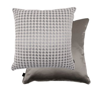Pocklington Houndstooth Feather Padded Cushion