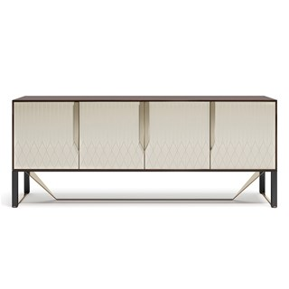 Italian Rocco Sideboard With Metal Detailing | Touched Interiors