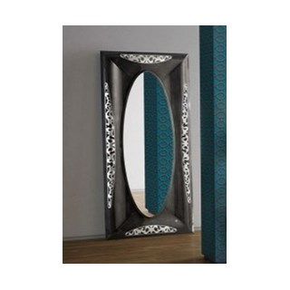 Rectangle lead frame luxury mirror