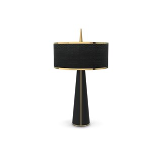 Seattle Gold Plated Luxury Table Lamp | Touched Interiors