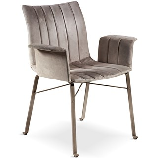 Srotti Luxury Dining Chair with Armrests | Touched Interiors