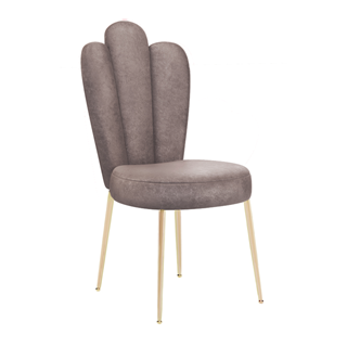 Sylvia Armless Scalloped Dining Chair
