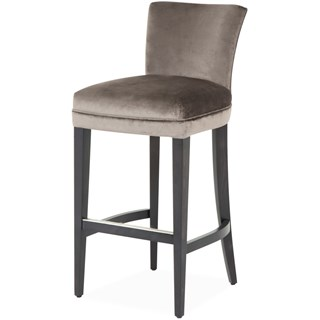 The Waltz Upholstered Bar Stool