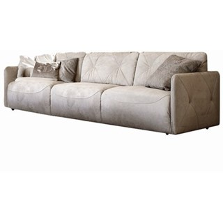 Touched D Upholstered Button Tufted Leather Sofa