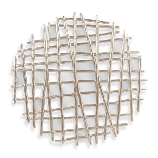 Twig Grid Wall Mirror | Touched Interiors