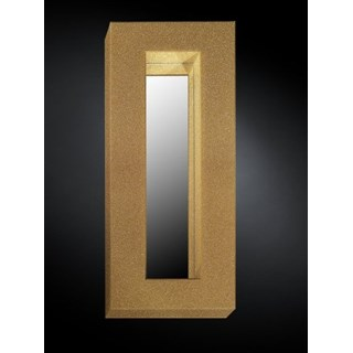 Luxury tall sparkle mirror in gold or silver