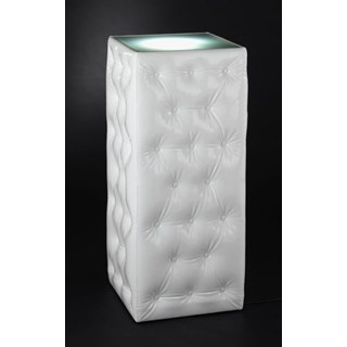Luxury upholstered support column