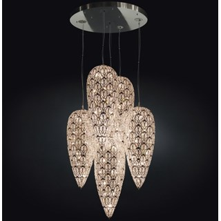 Luxury LED 350 cm drop Asfour Crystal chandelier