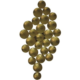 Vineyard Hammered Gold Brass Wall Lamp Sconce