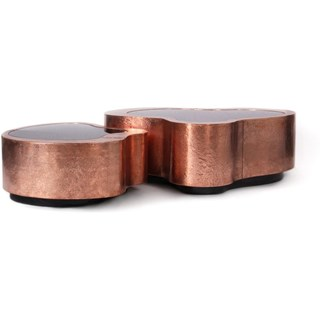 Luxury copper coffee table (small)