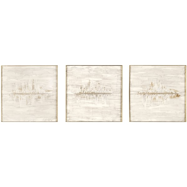 Pearl & Gold Orizzonte Wall Art Boxes