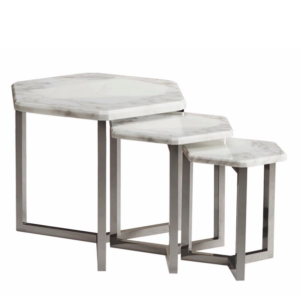 Touched D Titanium Adriana Side Table