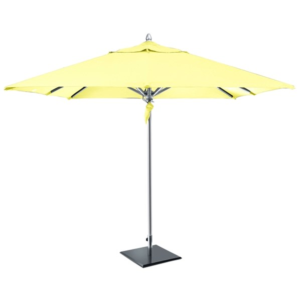 All Weather Luxury Parasol with Lemon Canopy