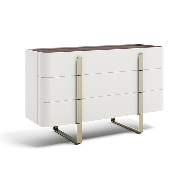 Lacquered Almari Chest Of Drawers